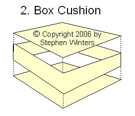 Down Ticking Box Cush