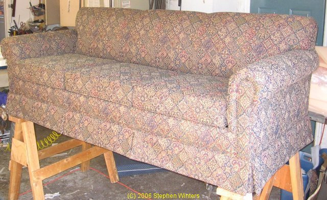 Engel Pattern Match Sofa